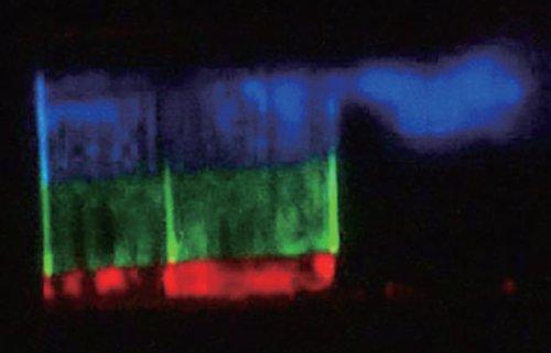 Спектр світла білого лазера